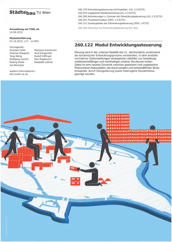 Plot - 260.122 Entwicklungssteuerung Plakat
